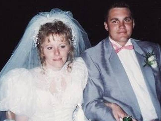 Sharon Yarnton and husband Dean on their wedding day / Picture: Supplied