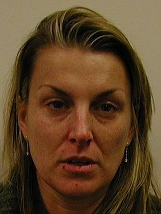 Sharon Ropa, following her arrest. Picture: Australian Federal Police.