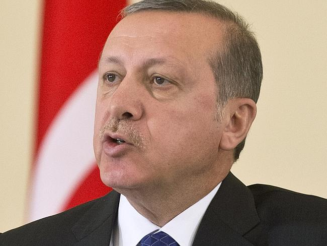 Boom times ... Turkish President Recep Tayyip Erdogan has benefited from a booming econom