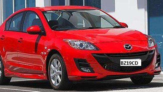 Ms Scott may be travelling in a red Mazda 3 sedan. Picture supplied by NSW Police