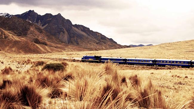 The Andean Explorer, Peru. Picture: Supplied