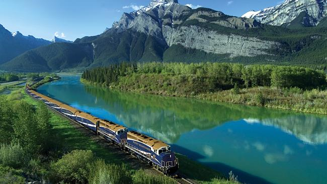 See the Canadian Rockies on board the Rocky Mountaineer.