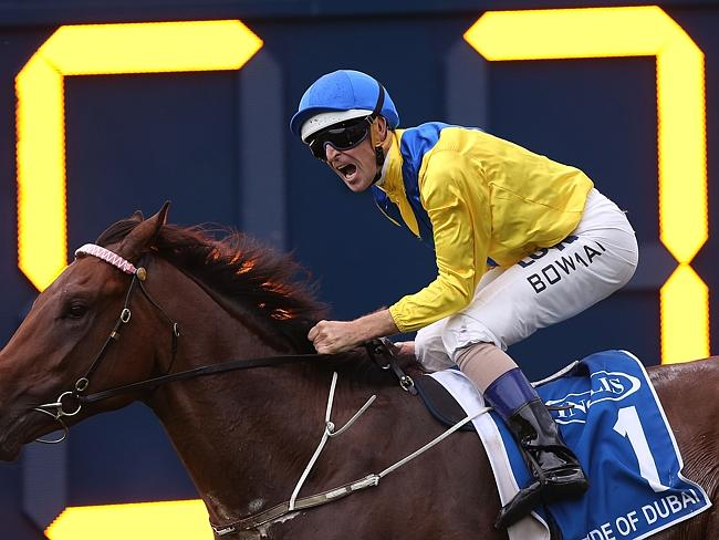 Pride Of Dubai won't contest the third leg of the two-year-old Triple Crown — the Champag