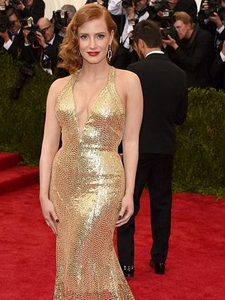 Jessica Chastain at the Met Gala.