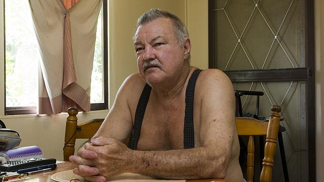 Clan ... Alex Milat, the brother of murderer Ivan Milat, at his Palmwoods home.