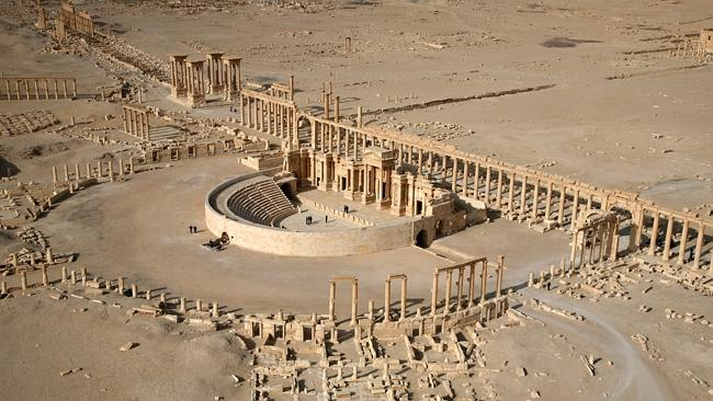 Counting the cost ... The ancient city of Palmyra, dubbed the birthplace of civilisation,