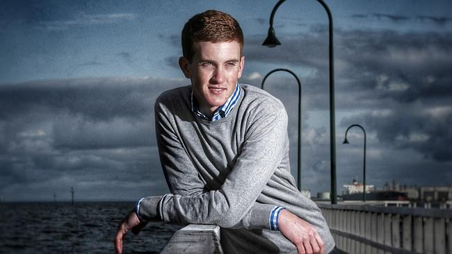 Jockey Chad Schofield is determined to take his career to the next level. Picture: Collee