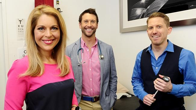 Dr Ginni Mansberg (left), pictured with her Embarrassing Bodies co-stars, says there is n