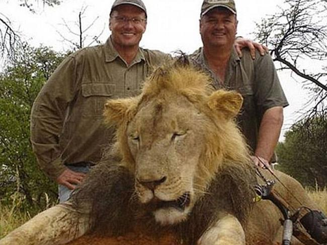 The beginning of outrage ... The picture of Cecil the lion as a hunting trophy for Americ
