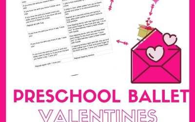 Valentines Preschool Dance activities and class plan