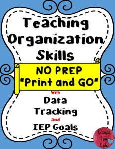 teaching-organizational-skills-lesson-plans