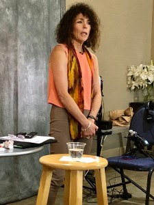 Michele Weiner-Davis in Boulder Colorado USA teaching how to effectively work with Couples