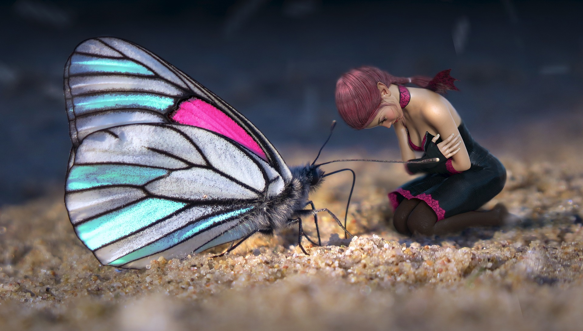 Be like the butterfly and transform with Resource Therapy training