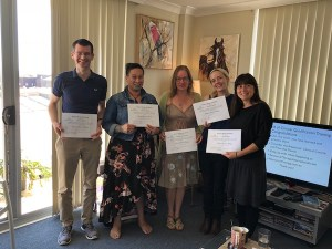 A warm welcome to the l2018 Clinical Resource Therapists graduating from the Resource Therapy Institute Australia