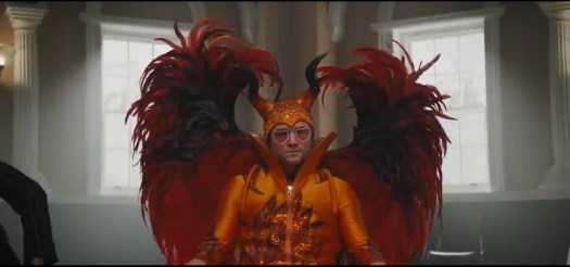 The original Rocketman Elton John as played by Taren Egerton is amazing!