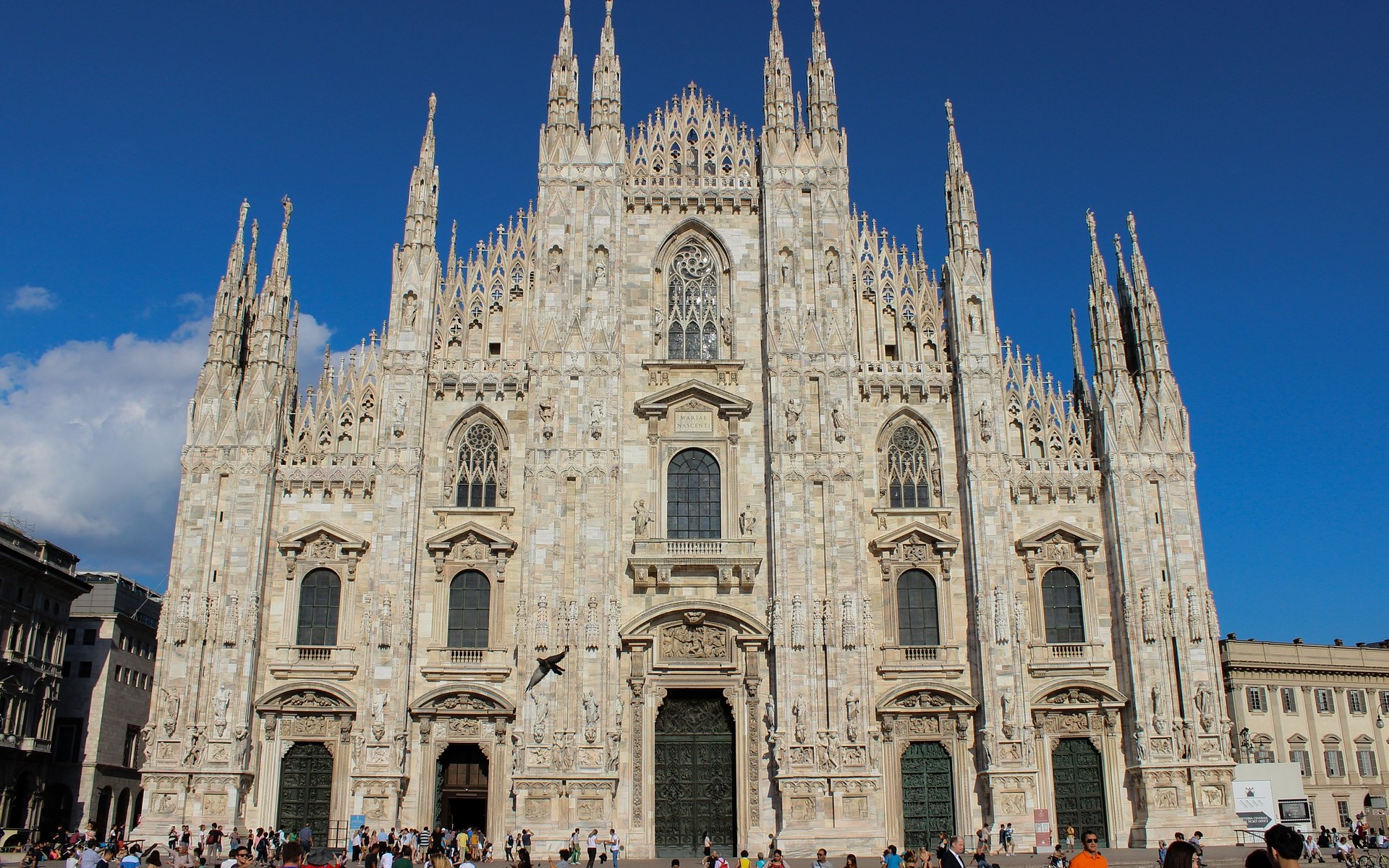 Milan's beautiful Cathedral