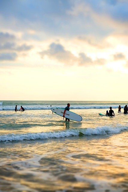 Some of the most beautiful surf spots in the world are to be found in Bali