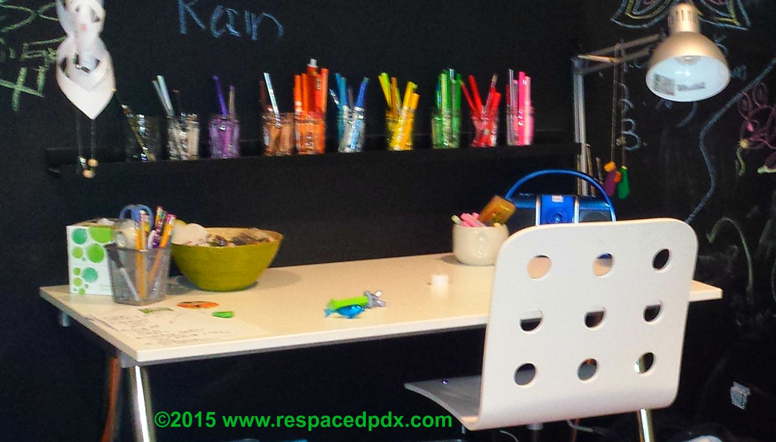 How To Organize Kids School Supplies At Home