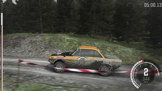 DiRT Rally on nykykonsoleiden kaunein rallipeli. Auton likastuminen on yksistään jo rallipelihistorian uskottavin.