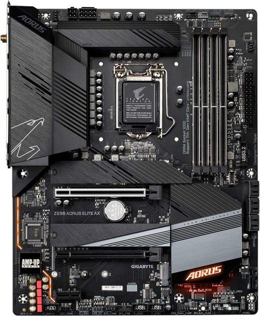 материнские платы Z590 для Intel 11