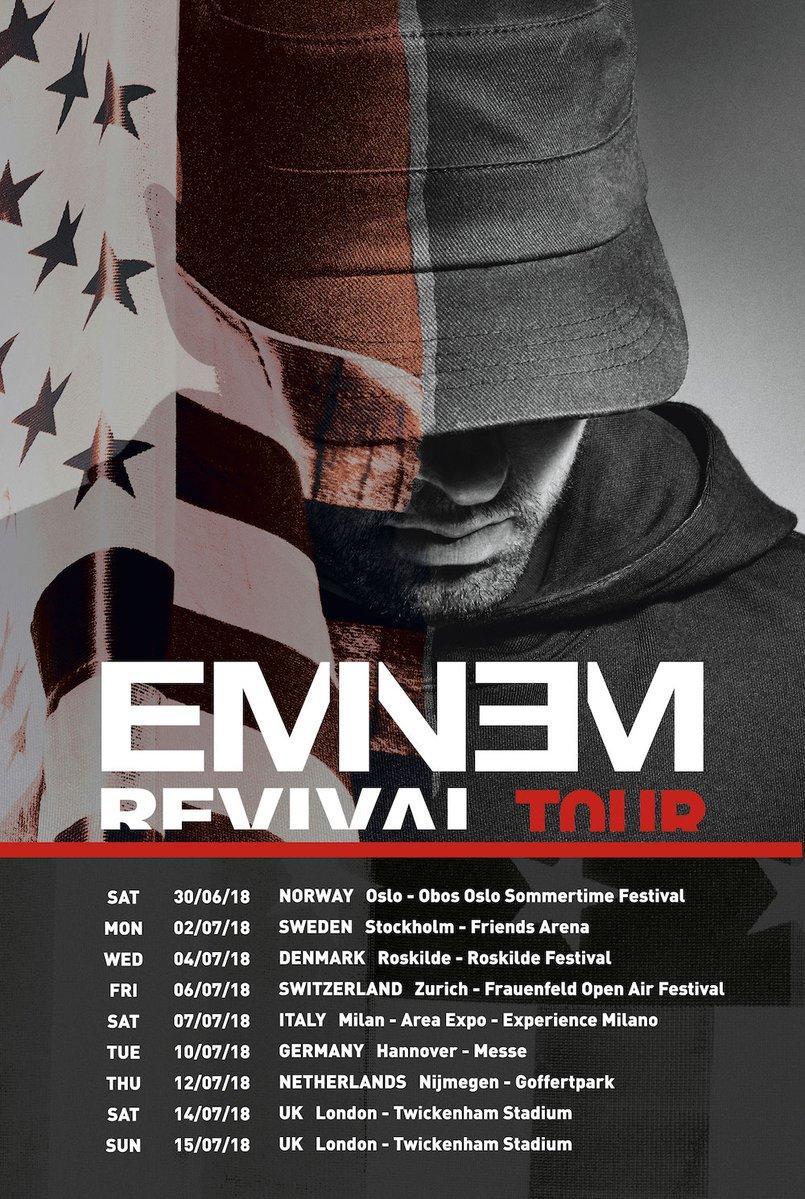 Eminem 'REVIVAL' Tour