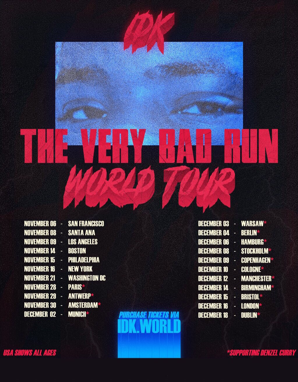 IDK Tour
