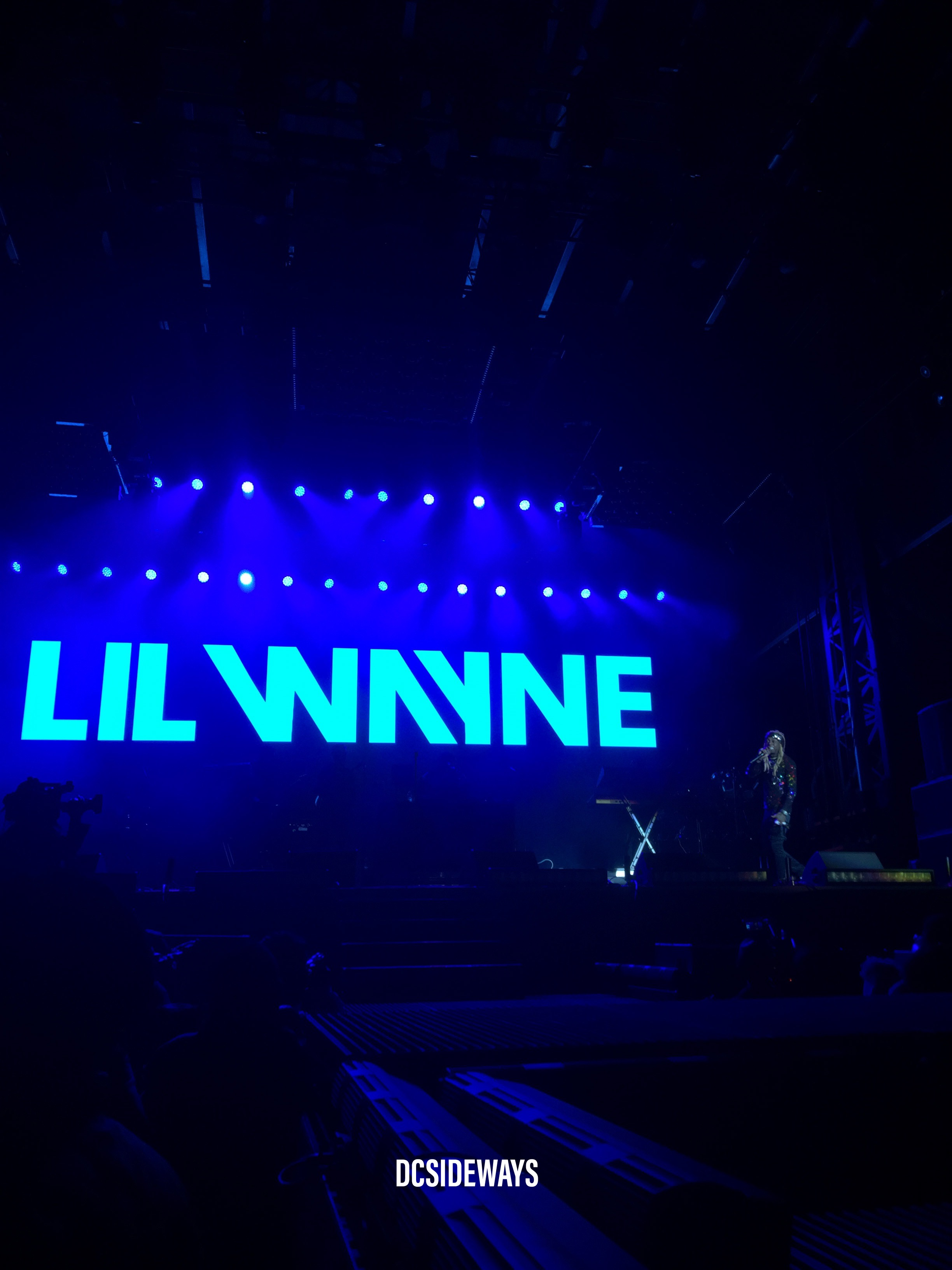 Lil Wayne Performs at Broccoli City Festival
