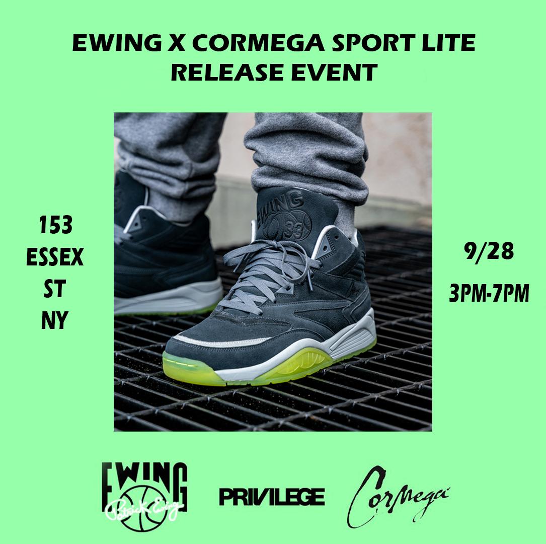 Cormega And Ewing Athletics Collaborate