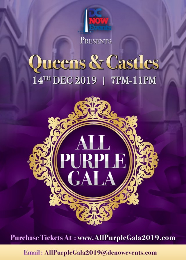 """DC Now Events All Purple Gala"""