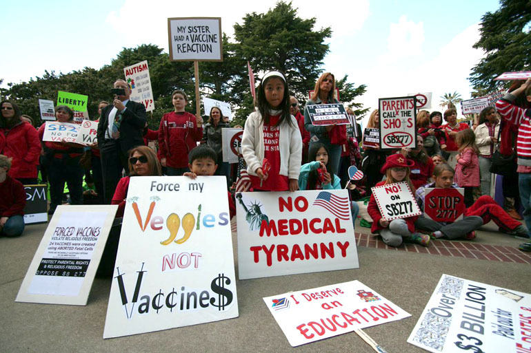 California and medical exemptions