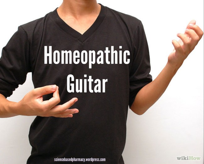 Homeopathy: The Air Guitar of Medicine