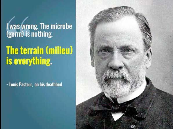 """Louis Pasteur """"deathbed recantation:"""