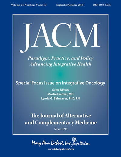 JACM integrative oncology