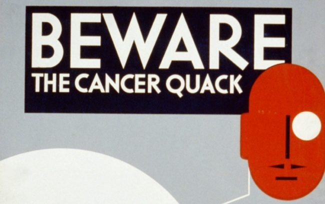 Ranjana Srivastava on cancer quackery