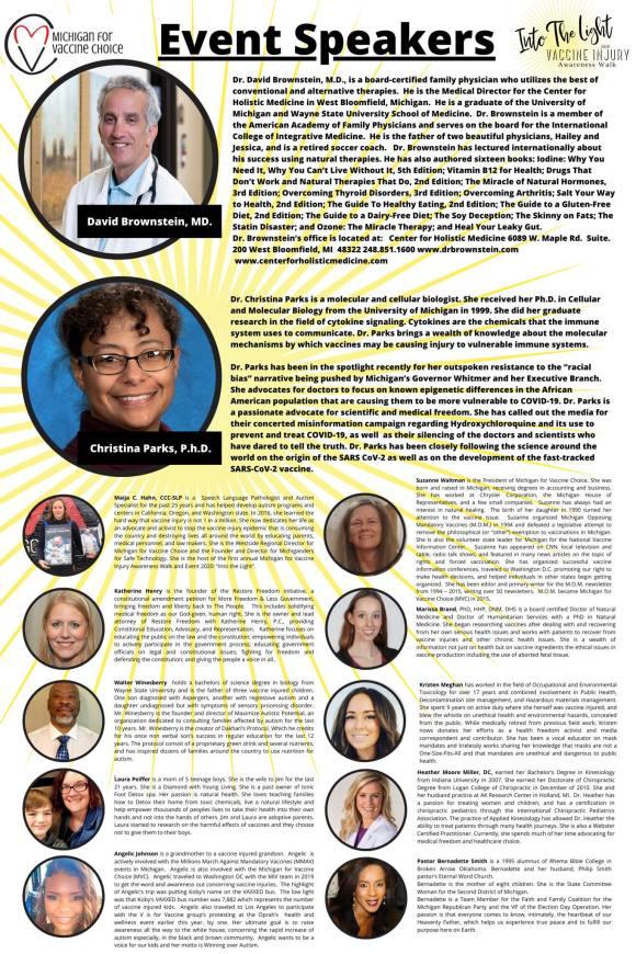 Into the Light: Vaccine Injury Awareness Walk 2020
