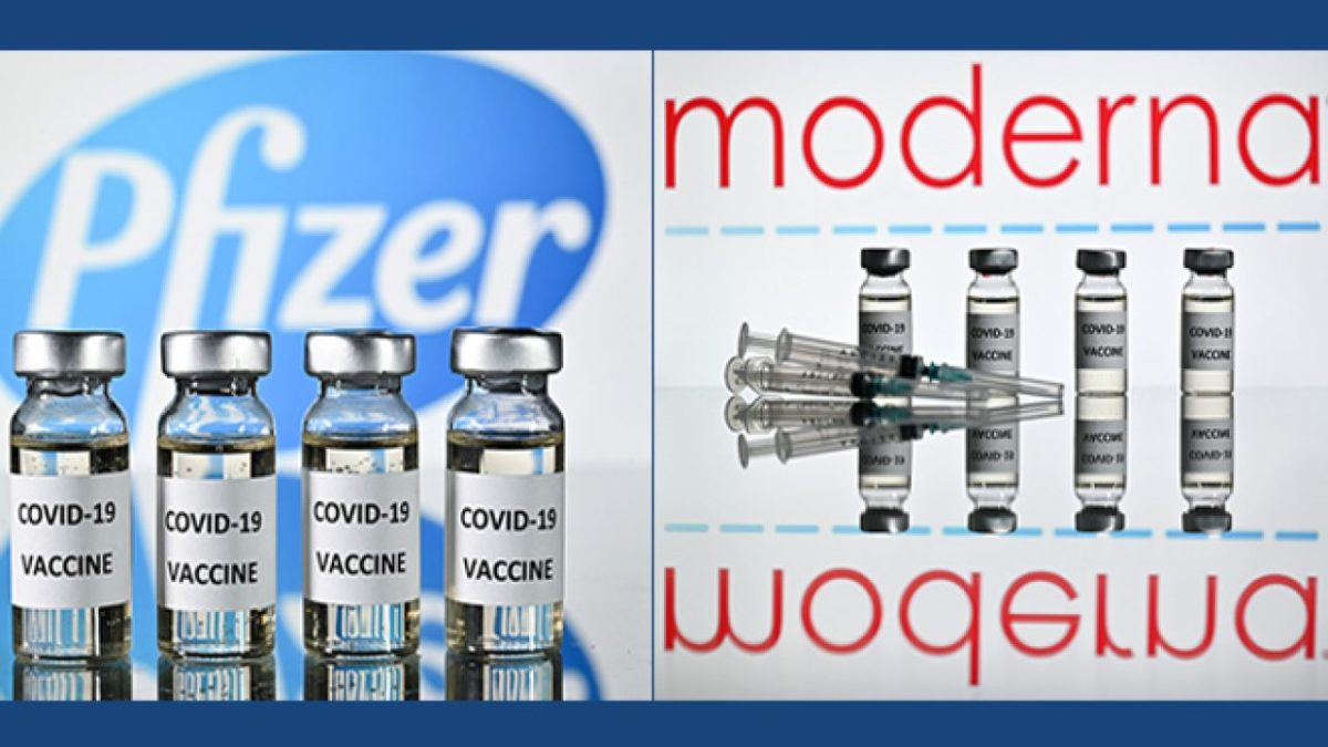 Pfizer and Moderna COVID-19 vaccines