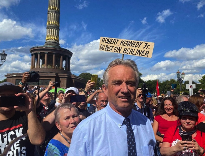 RFK Jr. in Berlin: Science denial at its worst