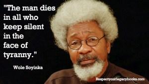 Wole Soyinka Stargist Quote
