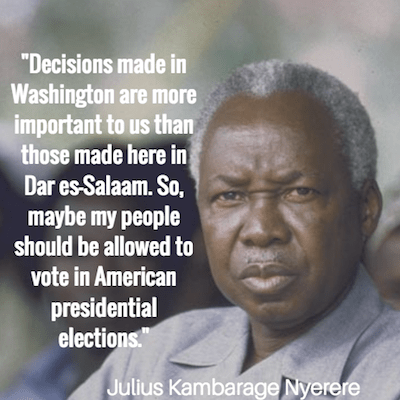 Julius Nyerere Quotes