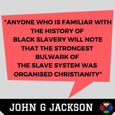 John G Jackson Quote - Slavery