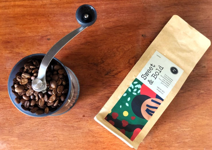 sweet and bold coffee beans respite