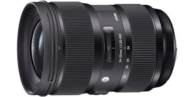 全球首款 SIGMA 發布 大光圈 24-35mm f/2 DG HSM Art
