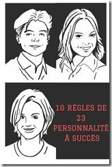 10 règles de 23 personnes à succes