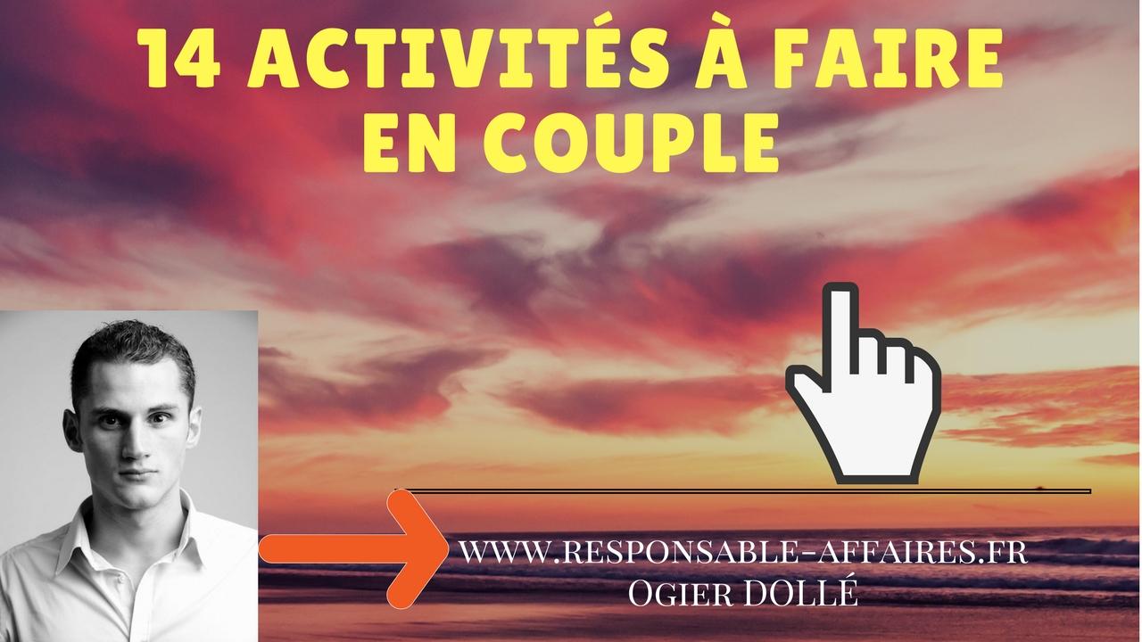14 activités à faire en couple