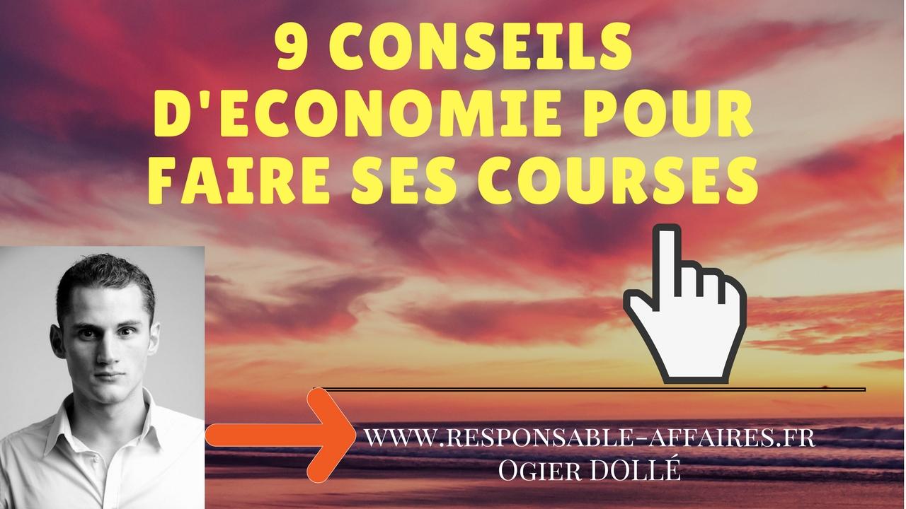 9 conseils d'économie pour faire ses courses