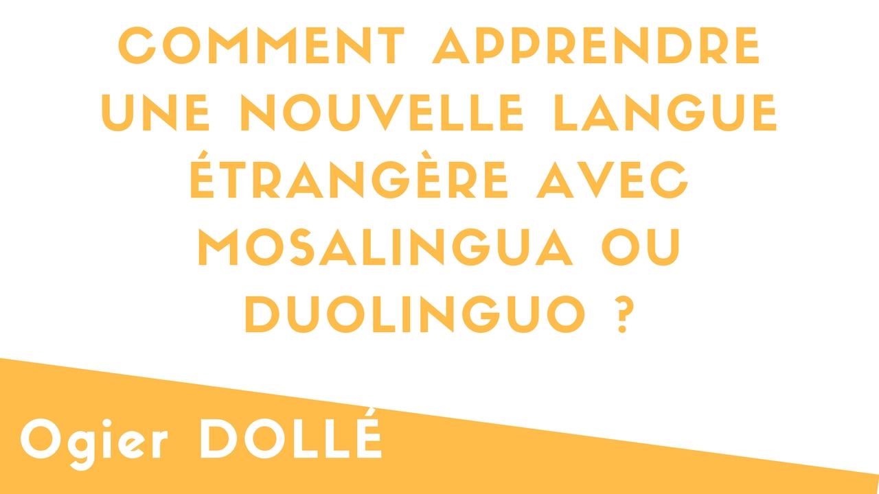 Comment apprendre une NOUVELLE langue étrangère avec DUOLINGUO ?