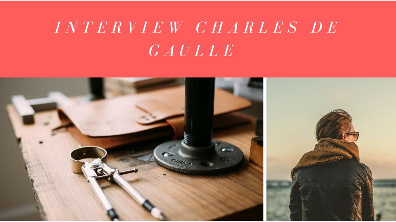 Interview Charles De Gaulle 1er Président de la 5ème République Française