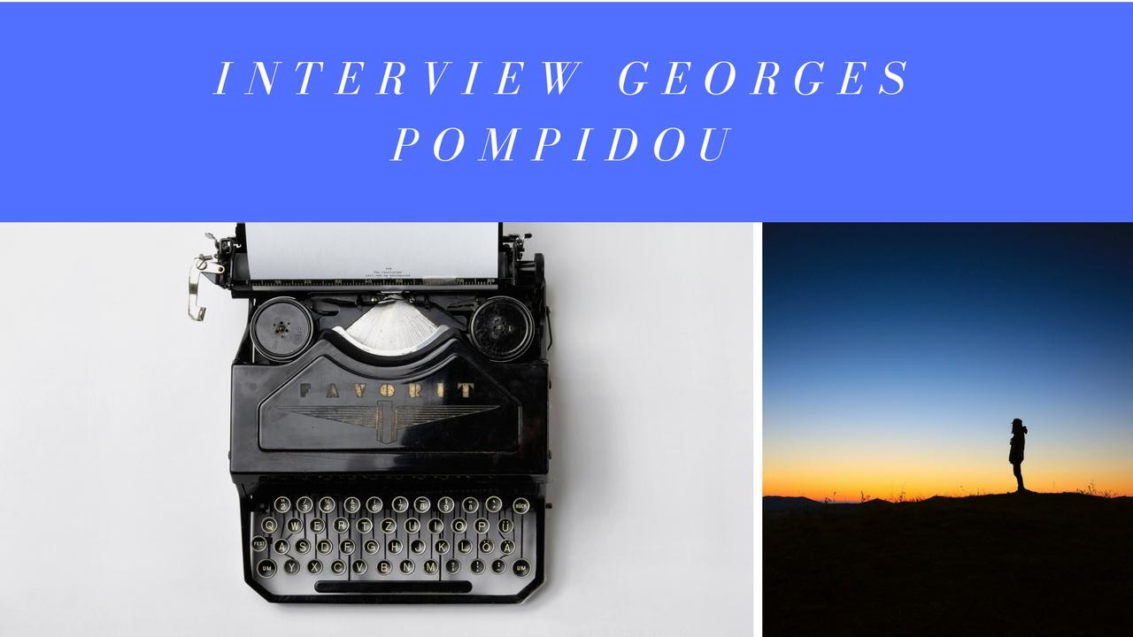 Interview Georges Pompidou 2ème Président de la 5ème République Française