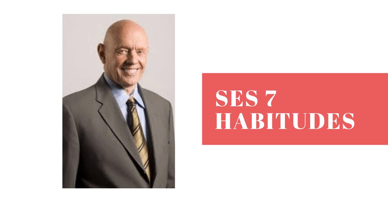 STEPHEN COVEY – SES 7 HABITUDES