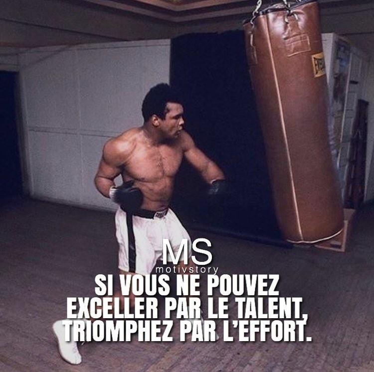 Si vous ne pouvez pas exceller par le talent, triomphez par l'effort.
